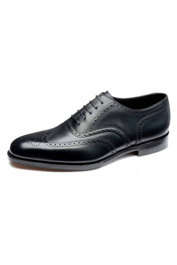 Loake Buckingham black shoes