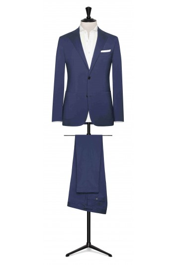 Mid Blue rain system made to measure suit