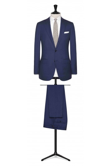 Dark Blue rustic tropical made to measure suit