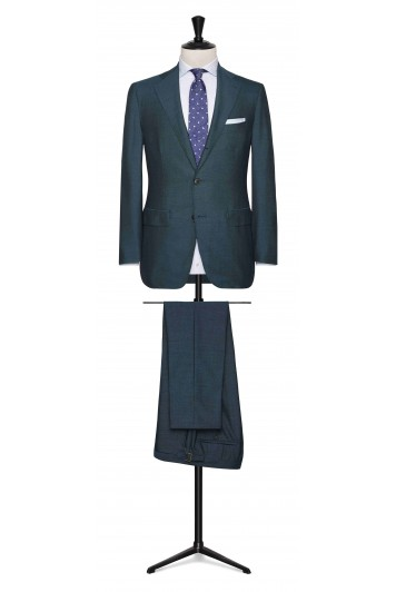 Ocean Green rustic tropical made to measure suit