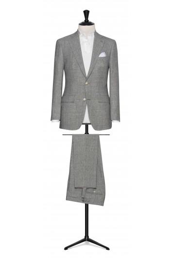 Mid Grey rustic tropical made to measure suit