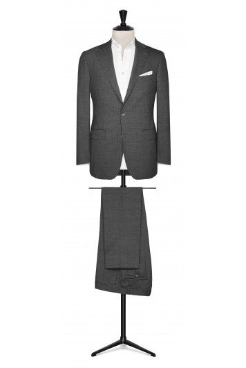 Mid Grey wool stretch made to measure suit
