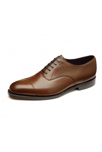 Loake aldwych dark brown oxford