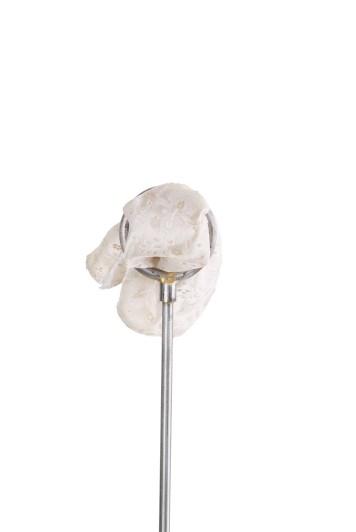 Antique ivory floral wedding pocket square