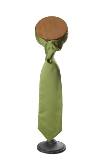 Apple green wedding cravat
