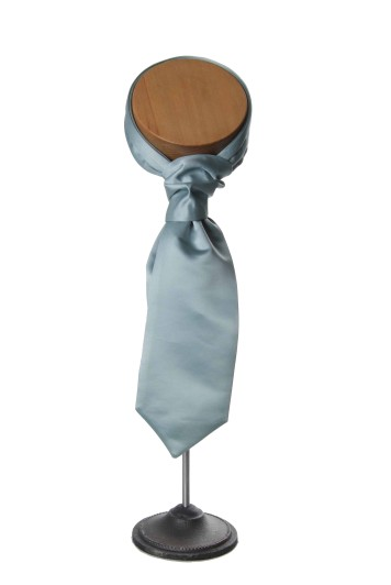 Aqua wedding cravat