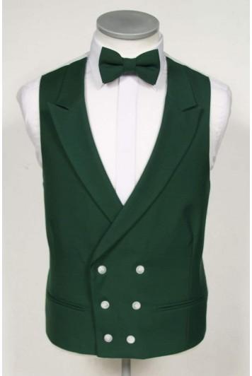 green waistcoat groom wedding