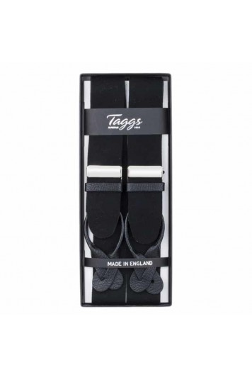 Box cloth black braces