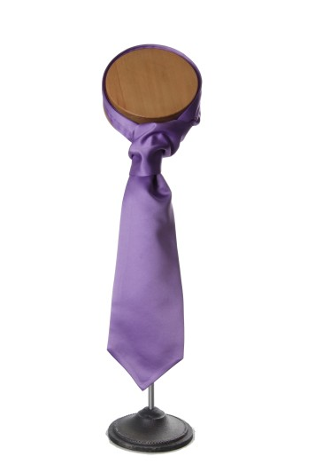 lilac grooms wedding cravat