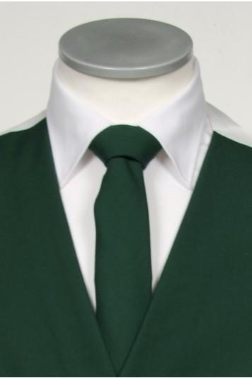 Bottle green groom wedding tie