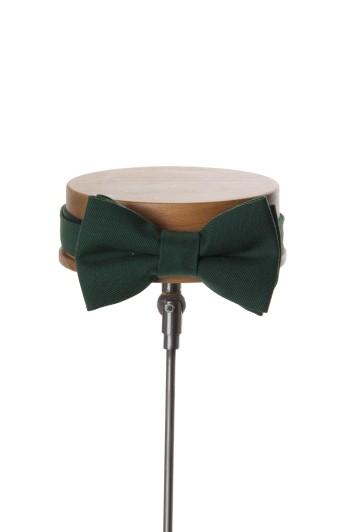 Ascot bottle green Grooms wedding bow tie