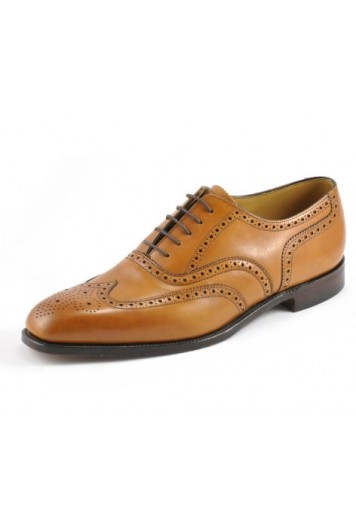 Loake Buckingham tan shoes