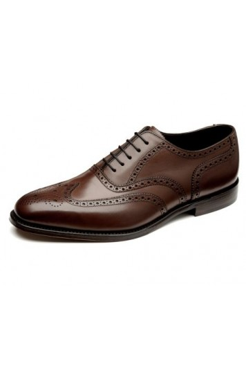 Loake Buckingham dark brown shoes