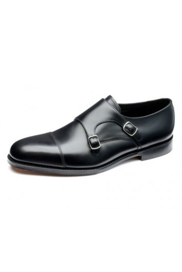 Loake Cannon black shoes