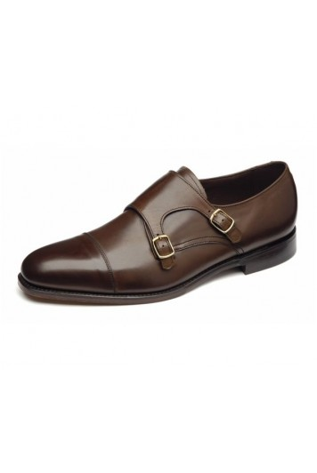 Loake Cannon dark brown shoes