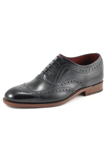 Loake fearnely black shoe
