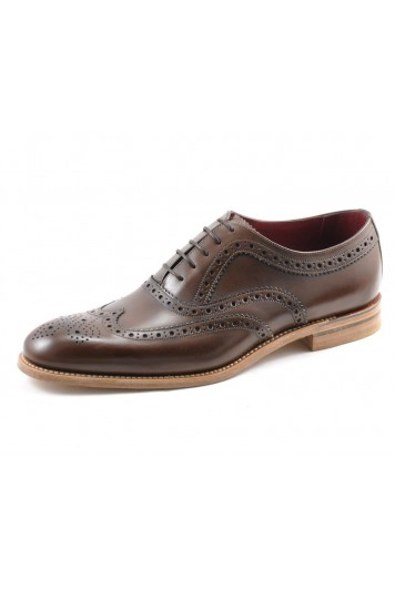 Loake Fernley dark brown