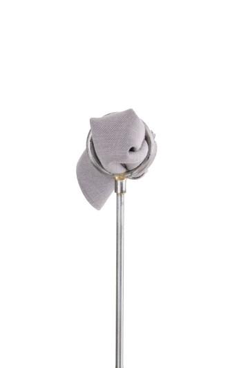 Ascot grey wedding pocket square