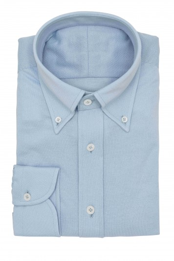 Light Blue piqué shirt