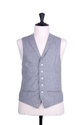 Lambs wool SB collared waistcoat
