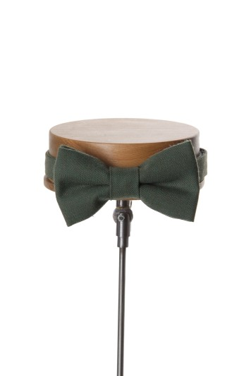 Ascot lawn green Grooms wedding bow tie