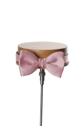 rose pink wedding bow tie