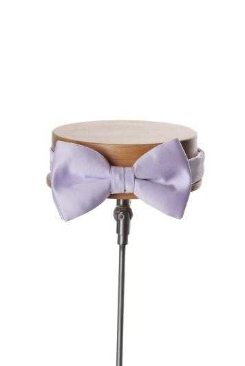 lilac wedding bow tie