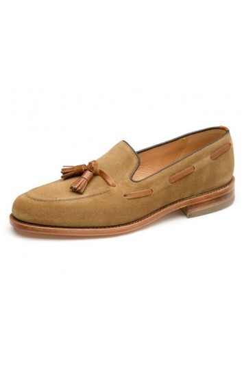 Loake Lincoln tan suede