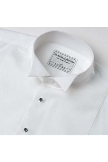 Marcella slim fit wing collar shirt