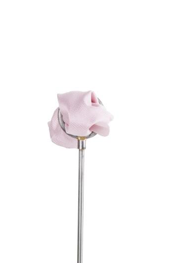 Pink Oxford wedding pocket square