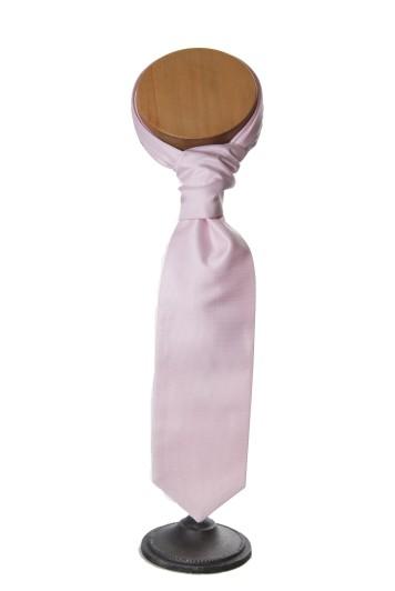 grooms pink oxford cravat