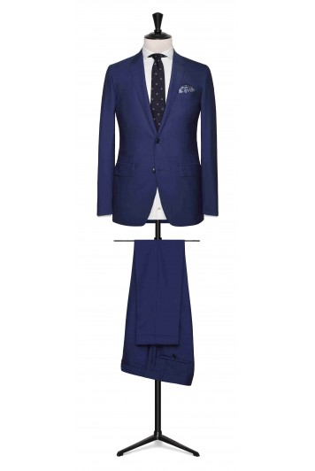 Mid Blue tropical made to measure suit