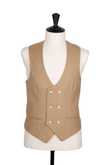Ascot grey waistcoat  scoop DB wedding