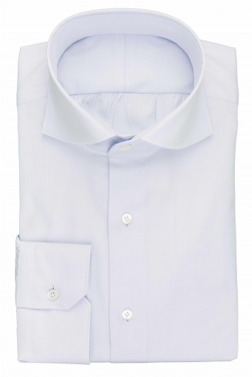 grooms pale blue wedding shirt