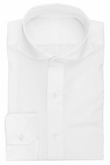 grooms white wedding shirt