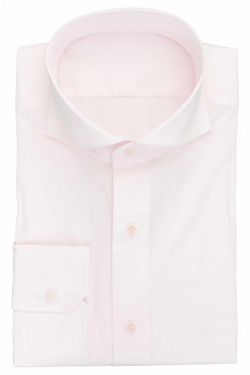 grooms pink wedding shirt