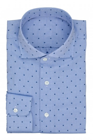 grooms blue star wedding shirt