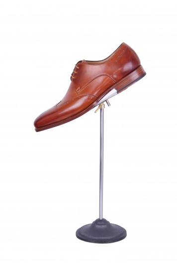 Bespoke Brown wing tip derby