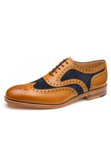 Loake tarantula tan & navy shoes