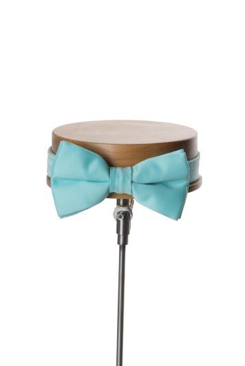 Tiffany blue wedding bow tie