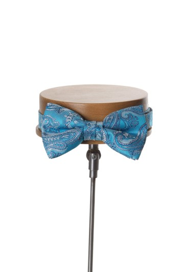 turquoise grooms wedding bow tie