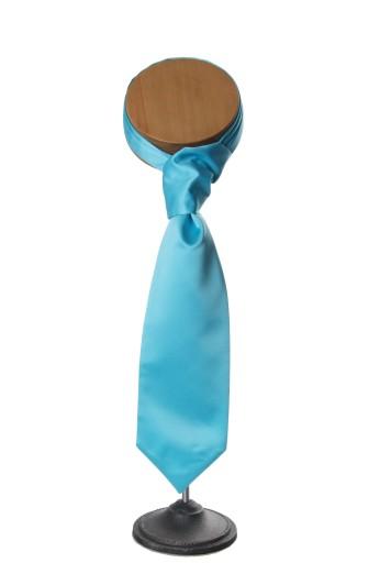 Turquoise grooms wedding cravat