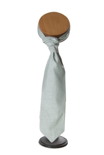 Pale green grooms wedding cravat