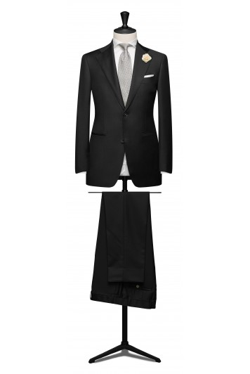 Anthracite light weight mohair suit.